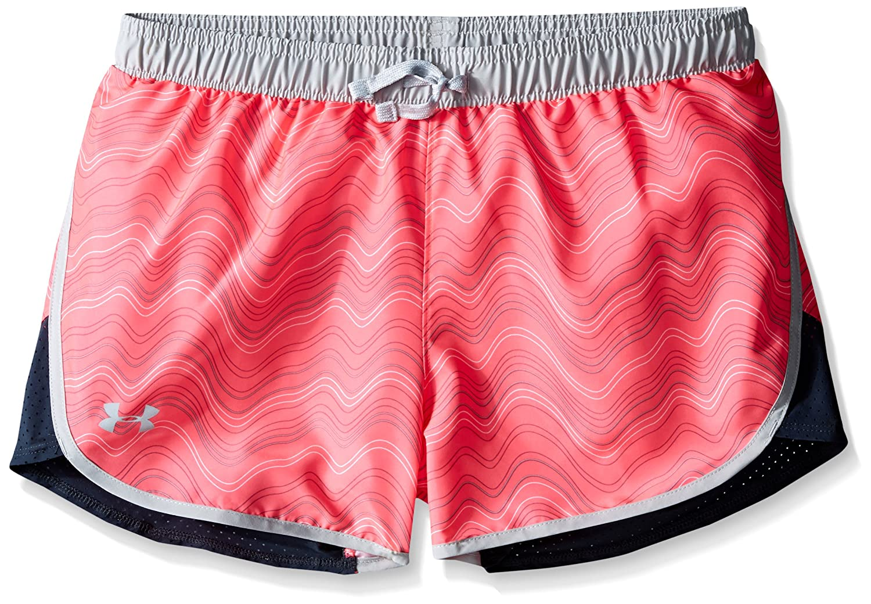 Under Armour Girls Fast Lane Novelty Shorts