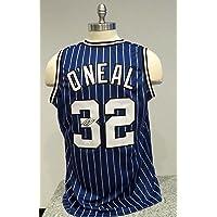 $150 » Shaquille O'Neal Signed Blue Orlando Autographed Jersey Novelty Custom Jersey JSA