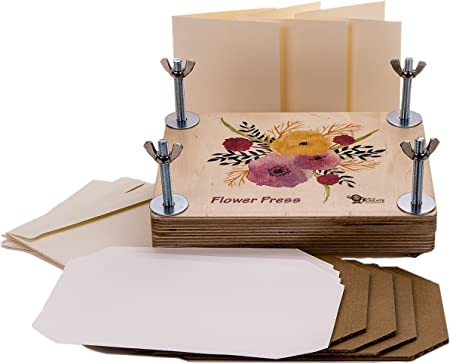 Amazon Com Time To Create Flower Press Will Not Bend Under