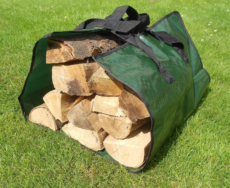 Cesta per camino in legno e per legna da ardere. unbekannt