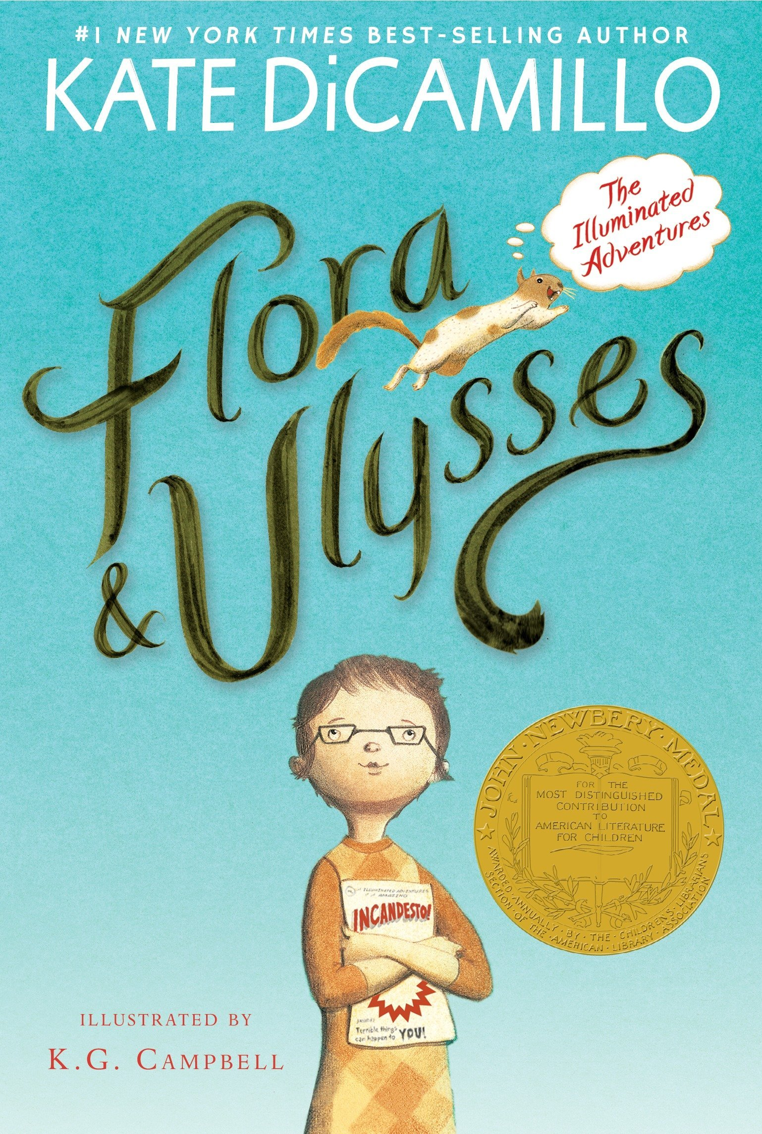 Flora and Ulysses: The Illuminated Adventures: DiCamillo, Kate ...