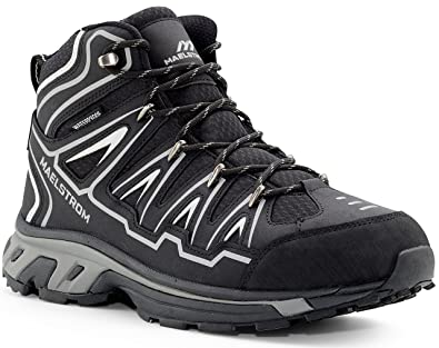 e6812ab7740 Maelstrom Men's Hiking Boots for Outdoors Backpacking Trekking Hunting -  Stylish Comfortable Lightweight Waterproof Boots