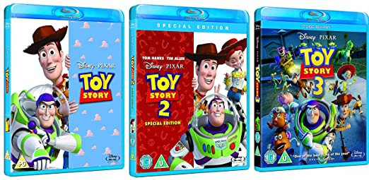 Toy Story Trilogy 1, 2, 3 Bundle