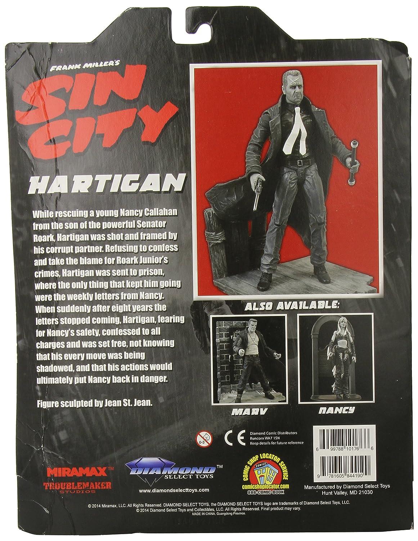 Hartigan Action Figure Diamond Select Toys Sin City Select