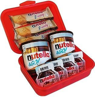 Geschenk Set Lunch Box Mit Ferrero Nutella Spezialitäten (9 Teilig)