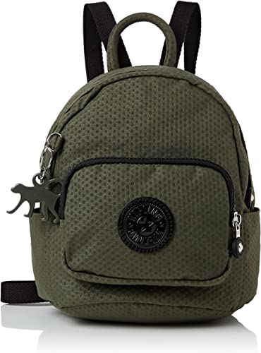 Kipling BPC - Mochila tipo casual, color verde (Dots Cact Khaki): Amazon.es: Zapatos y complementos