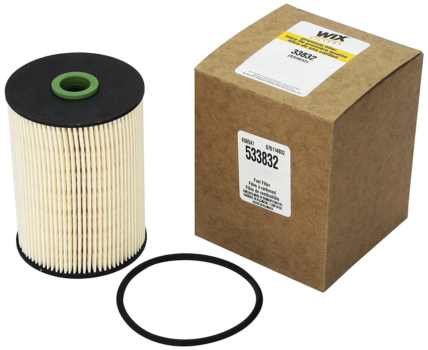 Wix Filters 33832 Cartridge Fuel Metal Canister Pack 2007 Vw Jetta Filter Replacement Of 1 Automotive
