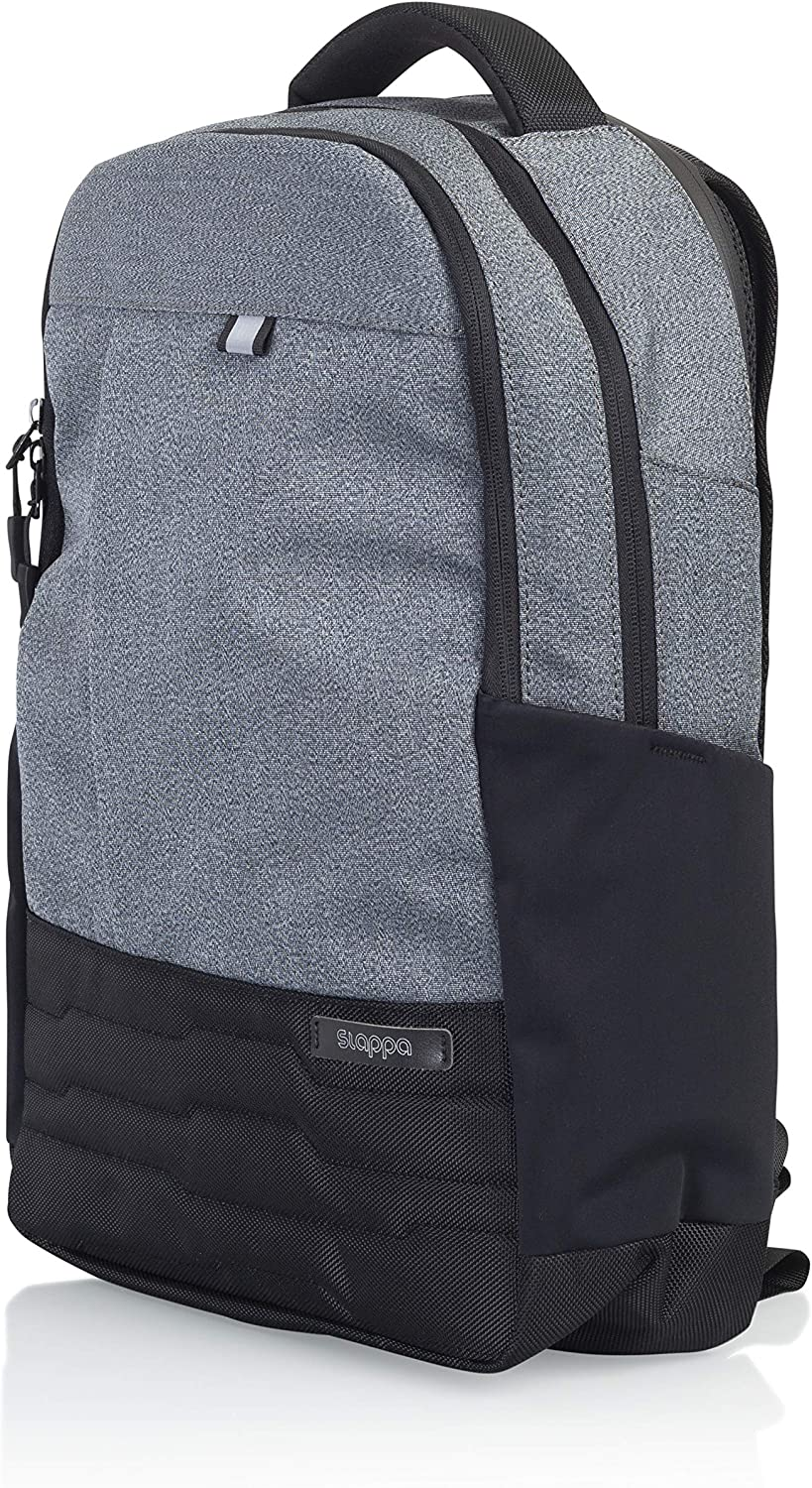 Slappa Gaming Laptop Backpack with Water Resistant Zippers; Fits up to 15