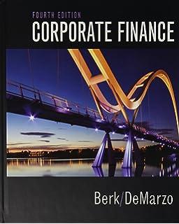 Amazon com: Corporate Finance (4th Edition) (Pearson Series