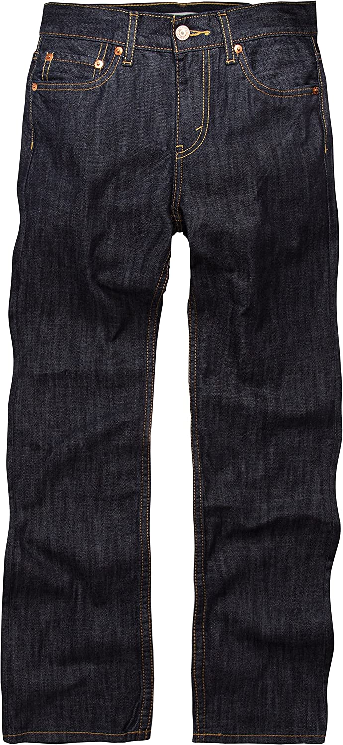 Levi's Boys' Big 514 Straight Fit Jeans: Clothing