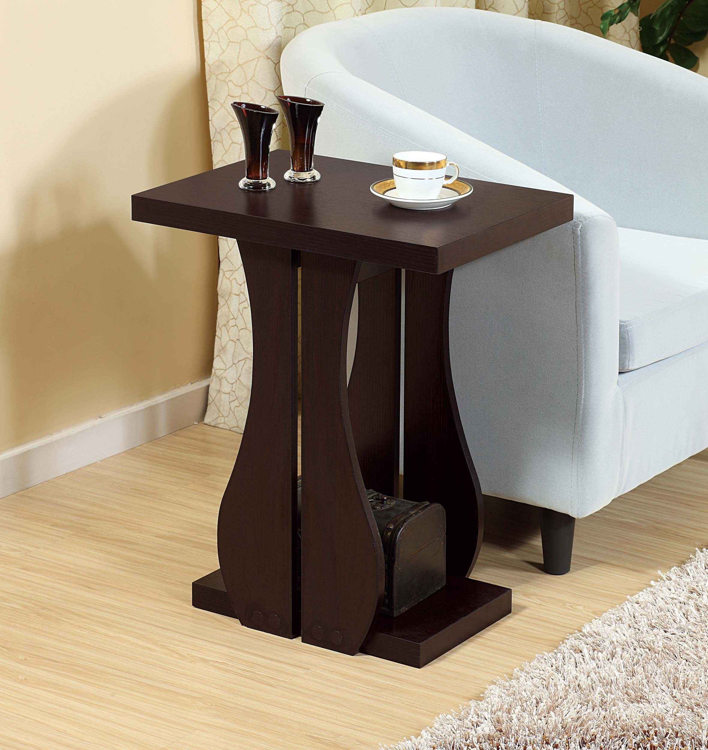 Q-Max Coffee Table, RED COCOA by Q.Max