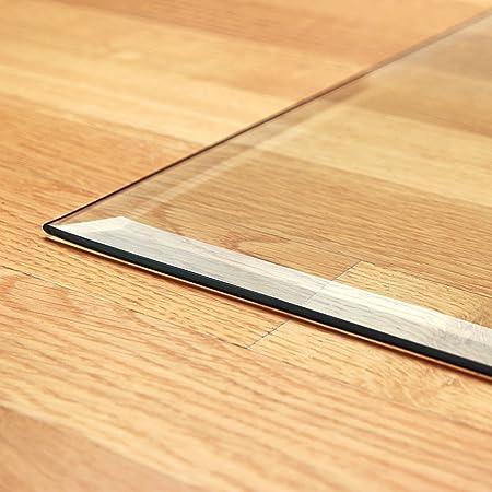 raik B40015 Kamin Glasplatte Zunge flach 2 inkl Facette