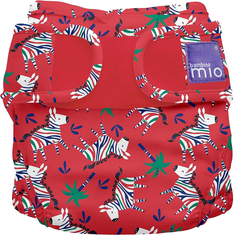 kg 1 Unit/é Bambino Mio Miosoft Culotte de Protection Z/èbre Zigzag Taille 2 9