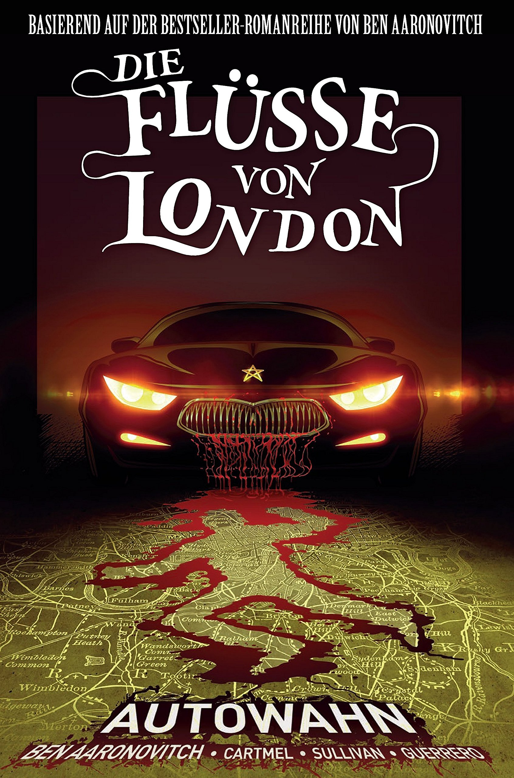 Die Flüsse von London - Graphic Novel: Bd. 1: Autowahn Taschenbuch – 27. August 2018 Ben Aaronovitch Andrew Cartmel Lee Sullivan Kerstin Fricke