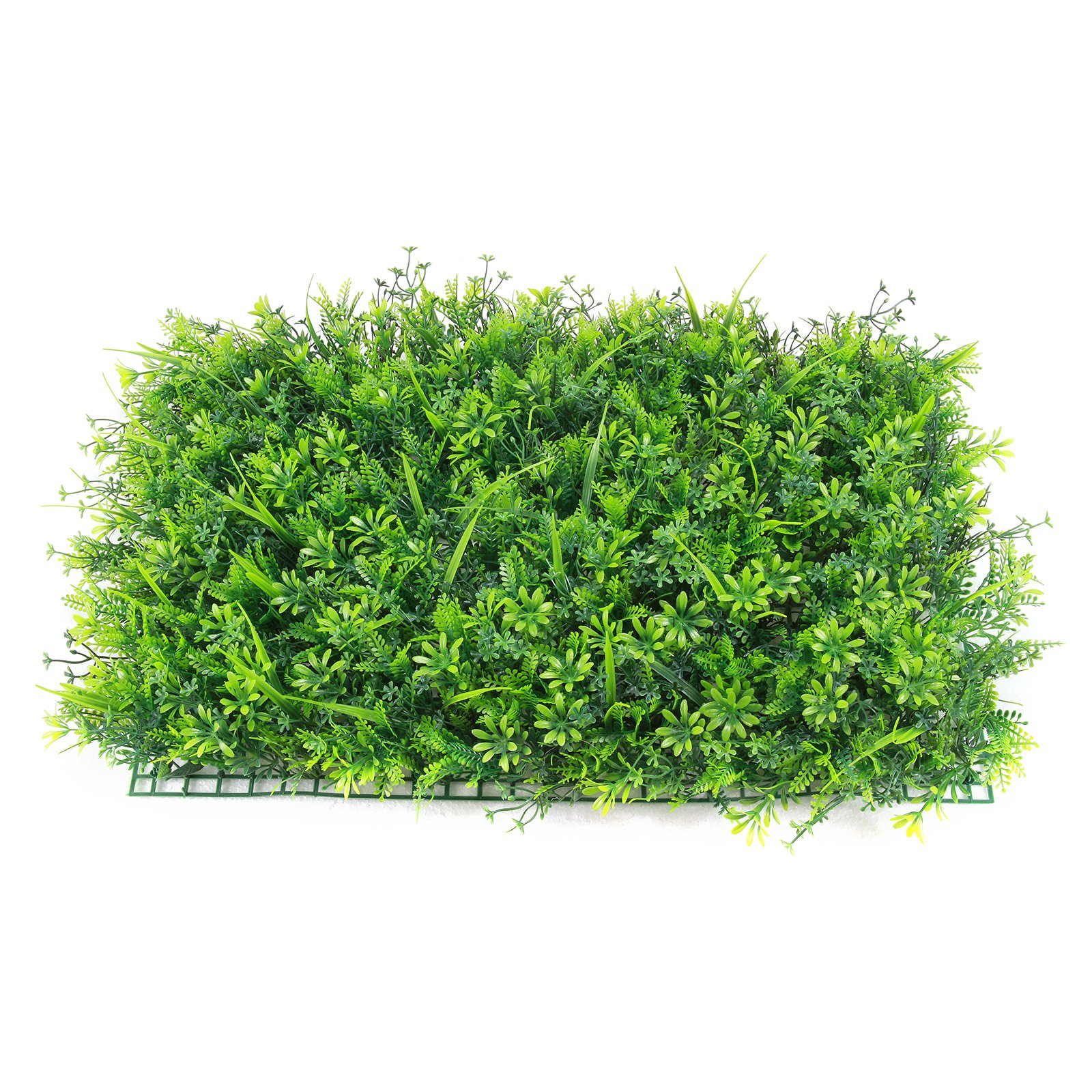 Baisidai Artificial Hedge Plant Privacy Fence Screen Greenery Panels for Both Outdoor or Indoor, garden or backyard home decorations (12pcs Pack, #028)