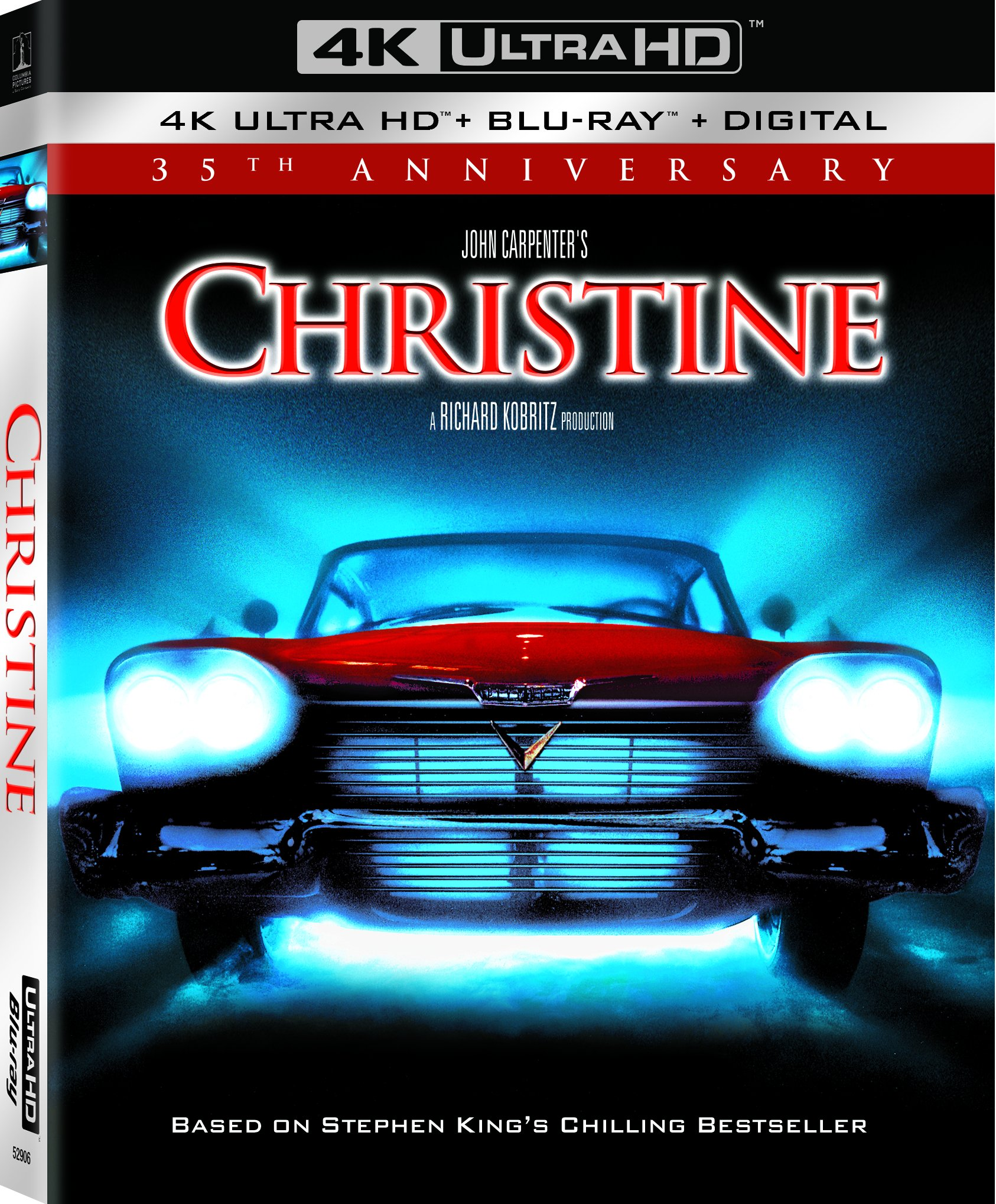 4K Blu-ray : Christine (35th Anniversary) (With Blu-ray, 4K Mastering, Anniversary Edition, Digital Copy, Subtitled)