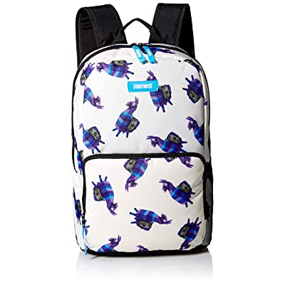 FORTNITE Kids' Little Amplify Backpack, Cream/Blue, Youth Size: Clothing