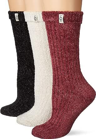 UGG Women's Cozy Sparkle Sock Gift Set Sockshosiery