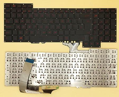 Teclado para ASUS ROG 751j G751 G751JY G751JT G751JM teclado ...