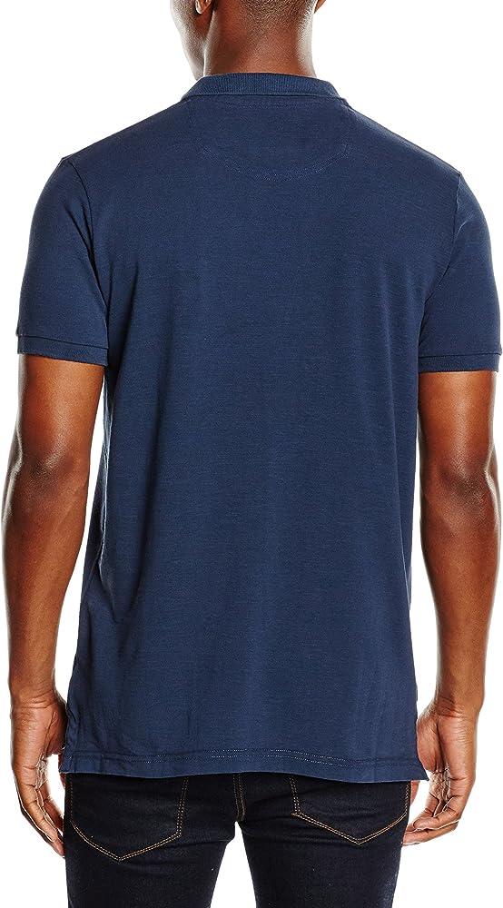 Esprit Jersey-Regular Fit Polo, Azul (Navy 400), X-Large (Talla ...