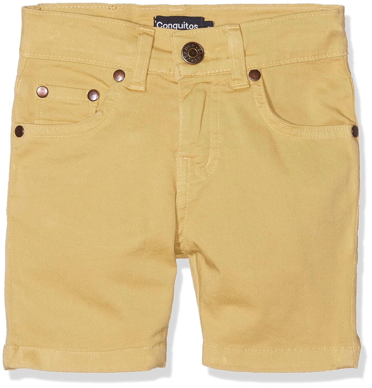 d3cb185609b4b Conguitos Bermudas Niño Mostaza - Pantalon - Straight - Garçon: Amazon.fr:  Vêtements et accessoires