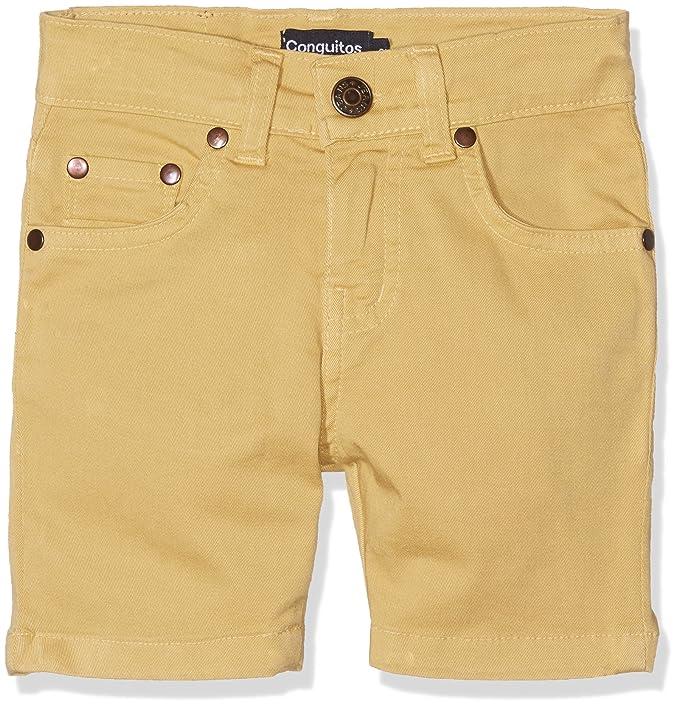 11ca5e40a Conguitos Bermudas Niño Mostaza Pantalones para Niños: Amazon.es: Ropa y  accesorios