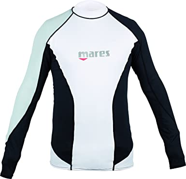 Mares Rash Guard L/Sleeve Loose Fit - Traje de Buceo Unisex ...