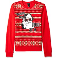 Alex Stevens Mens 72152 Where My Hosugly Christmas Sweater Suit Jacket - red