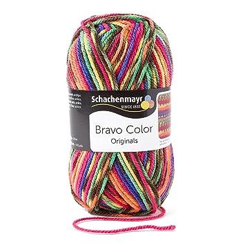 Schachenmayr Bravo Color 9801421-02085 rainbow Handstrickgarn ...