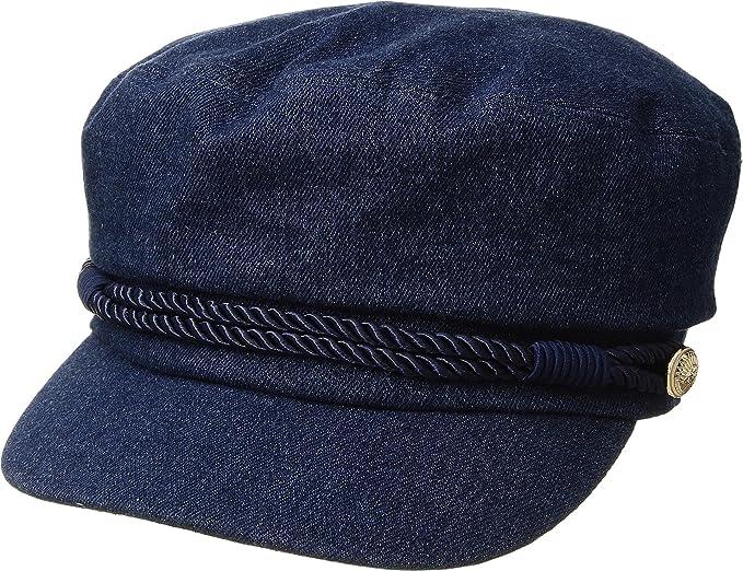 05045aa02b2c7 Hat Attack Women s Summer Emmy Newsboy Cap Denim One Size at Amazon Women s  Clothing store