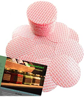 Tamper foam seal bottles /& jars bag of 50 22 mm Press and Seal Safety Liners