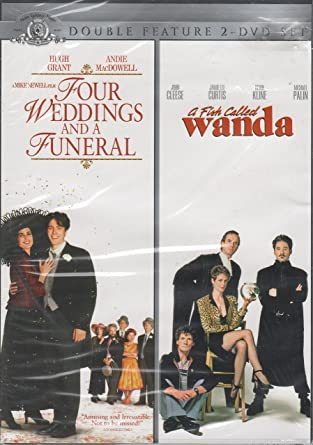Amazon Com Four Weddings And A Funeral A Fish Called Wanda Double