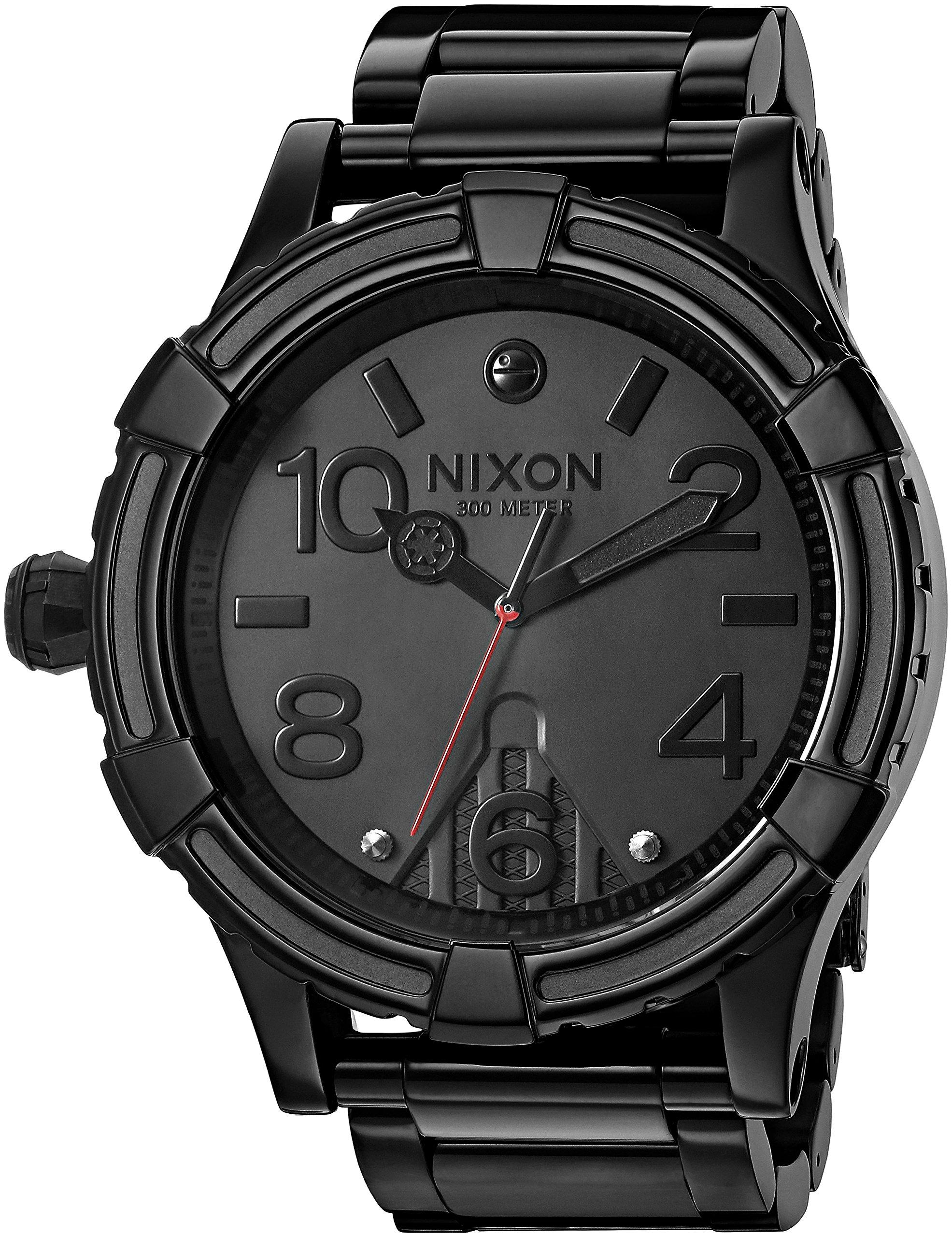 Nixon Men's '51-30 SW, Vader' Quartz Stainless Steel Casual Watch, Color:Black (Model: A172SW-2244-00)