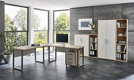 Arbeitszimmer Büromöbel Komplett Set Office Edition Set 4 Amazon