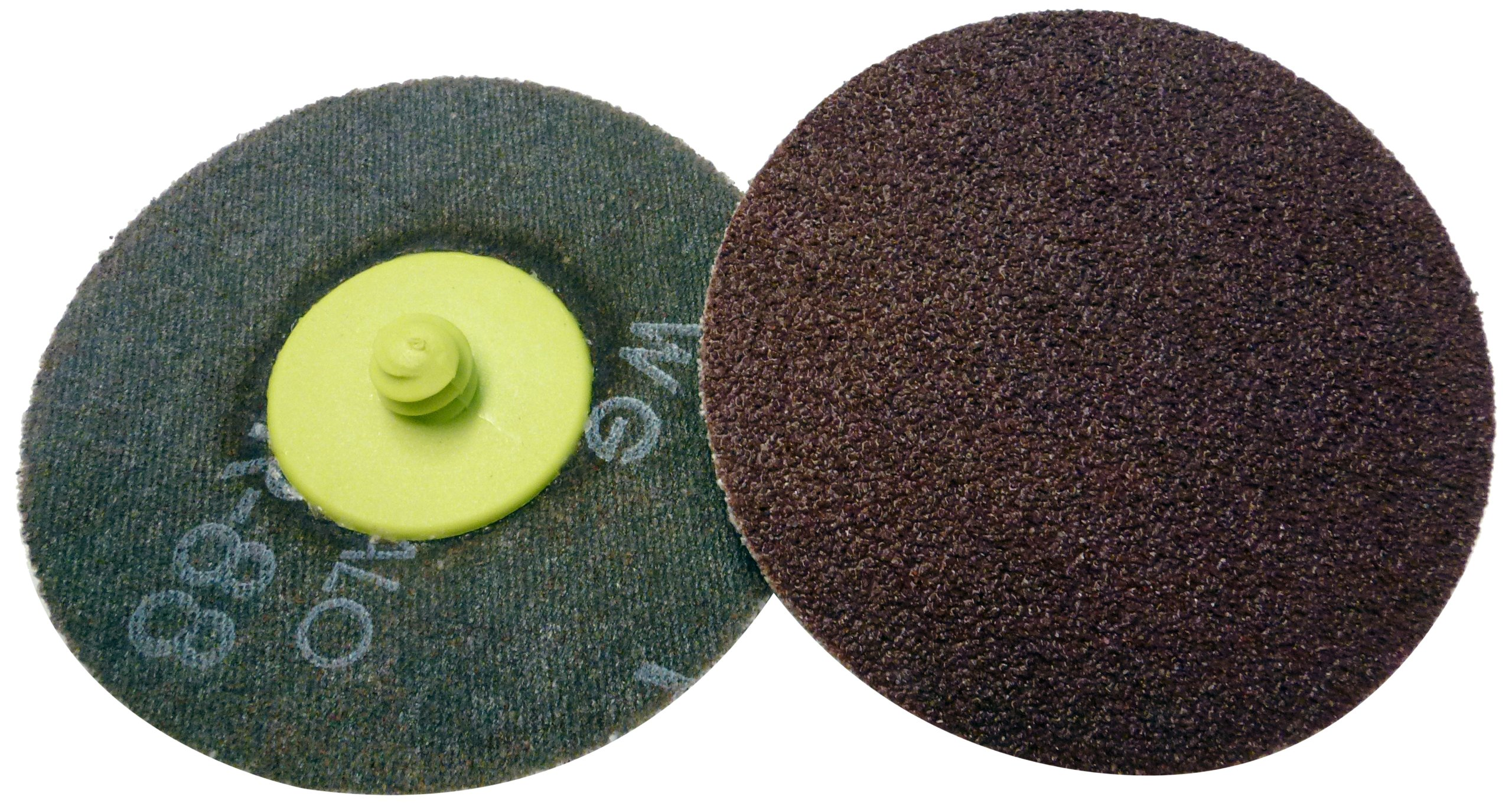 Griton QA33050 3'' Quick Change Sanding Disc, Industrial Grade, 50 Grit, Green (Pack of 25)