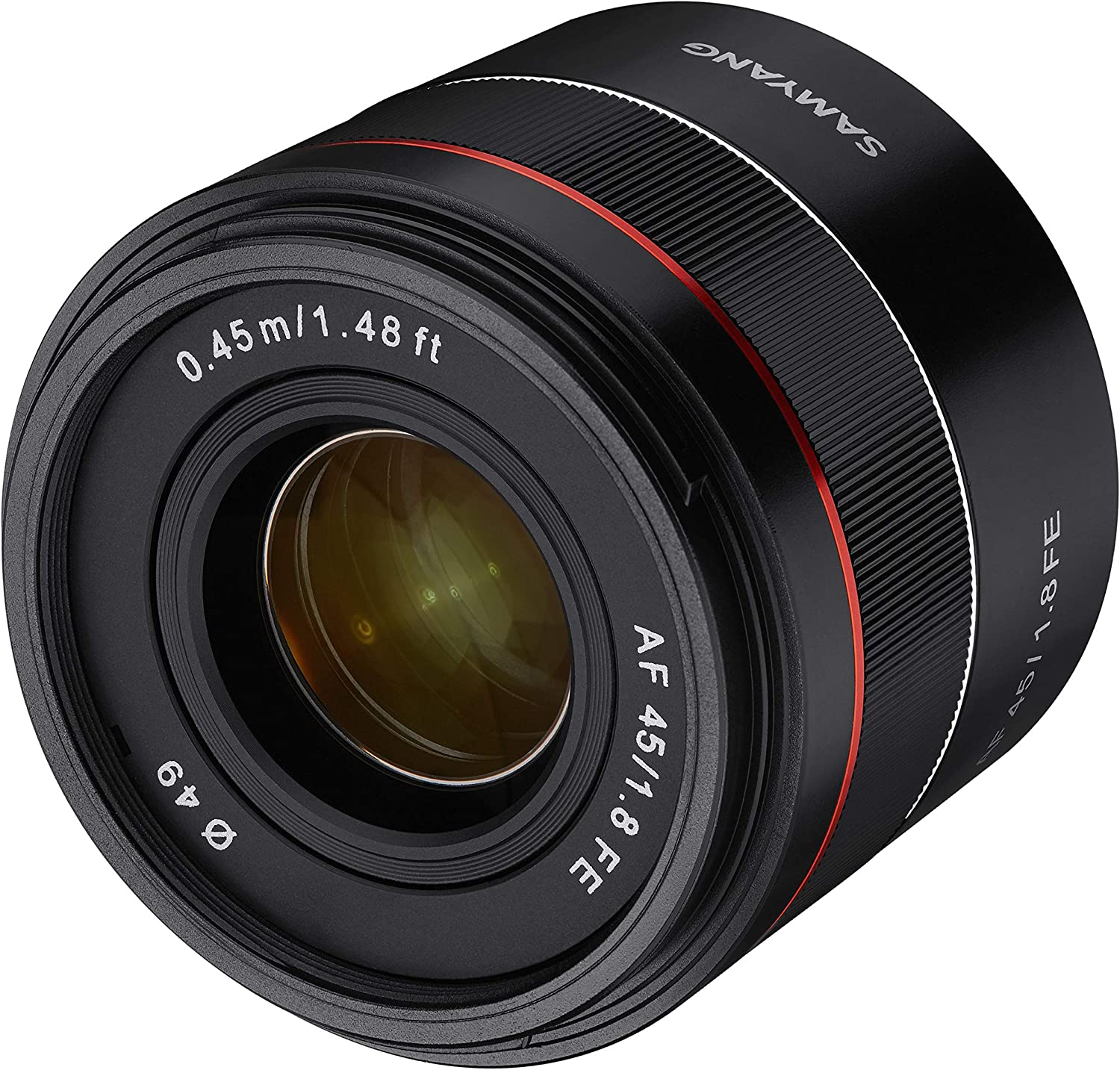 Samyang AF 45 mm F1.8 Sony FE Full Format Lens for Sony FE Cameras