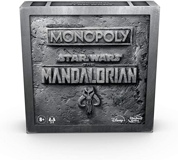 Monopoly Star Wars: The Mandalorian Edition from Hasbro Games board game in package