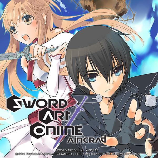 Sword Art Online: Aincrad (Issues) (8 Book Series)