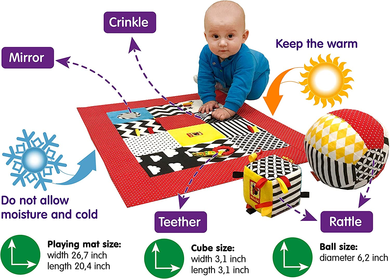 Hip Hop Swing Reindeer Tumbler Education Toy For 3 Months Baby RU