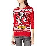 Disney Suéter de Navidad Feo Chamarra sin botón para Mujer