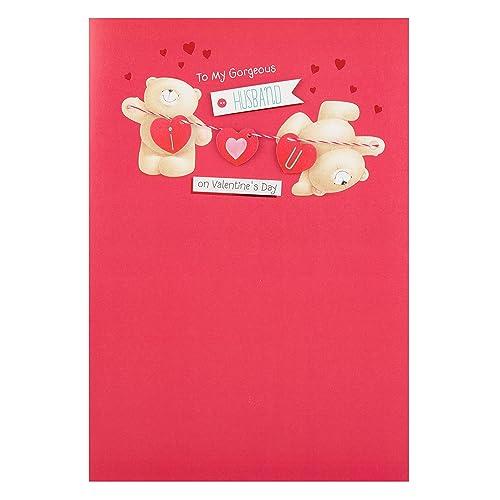 Valentine cards husband amazon hallmark valentines day card for husband head over heels large m4hsunfo