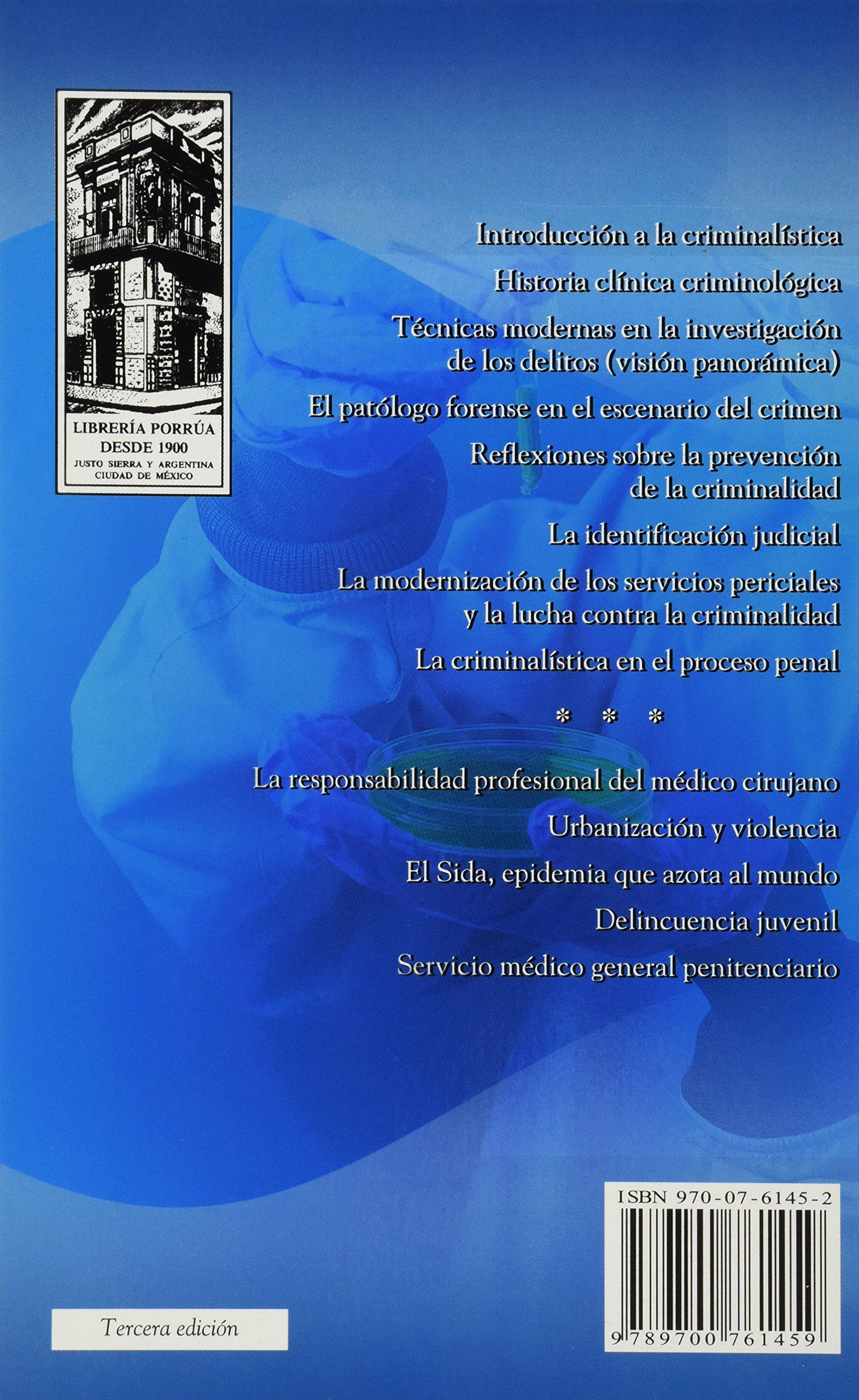 NOTAS DE UN CRIMINALISTA: RAFAEL L. MORENO GONZALEZ: 9789700761459: Amazon.com: Books