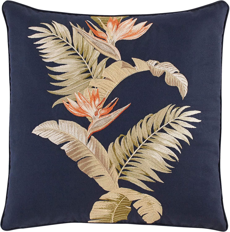 Tommy Bahama San Jacinto Throw Pillow, 20x20, Blue