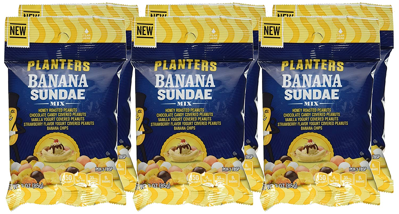 Planters Banana Sundae Mix, 3.0 Ounce (Pack of 6): Amazon.com ... on