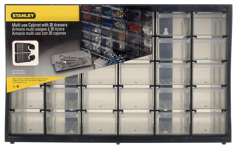 STANLEY 1-93-980 Caja de Almacenamiento para Piezas peque/ñas con 30 cajones