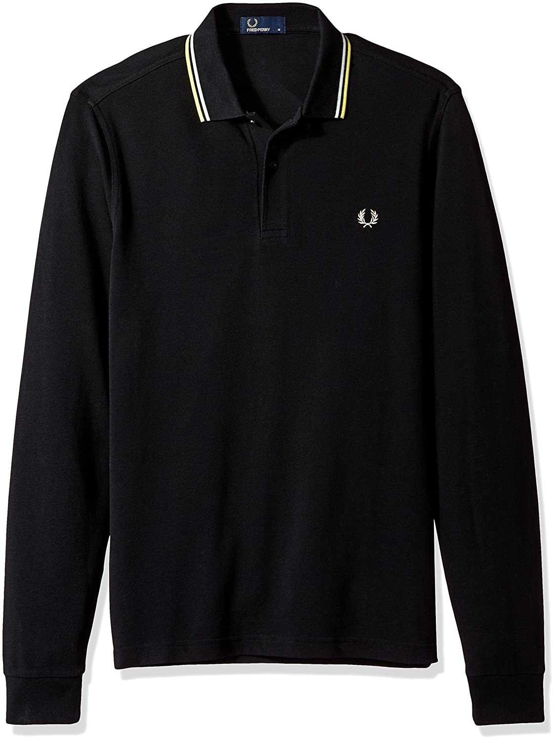 40e5db2d Amazon.com: Fred Perry Men's Long Sleeve Twin Tipped Shirt: Clothing