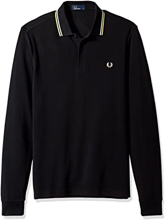Polos à manches longues Fred Perry Twin Tipped homme Zh84n8l