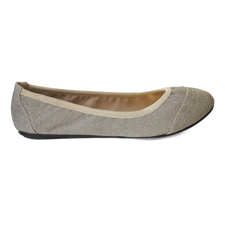 Cocorose Zapatos Plegables - Barbican Ballerinas Mujer 41 EU|Gold