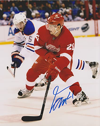 best service 5dc1f 3b6ec Tomas Tatar Detroit Red Wings NHL 8x10