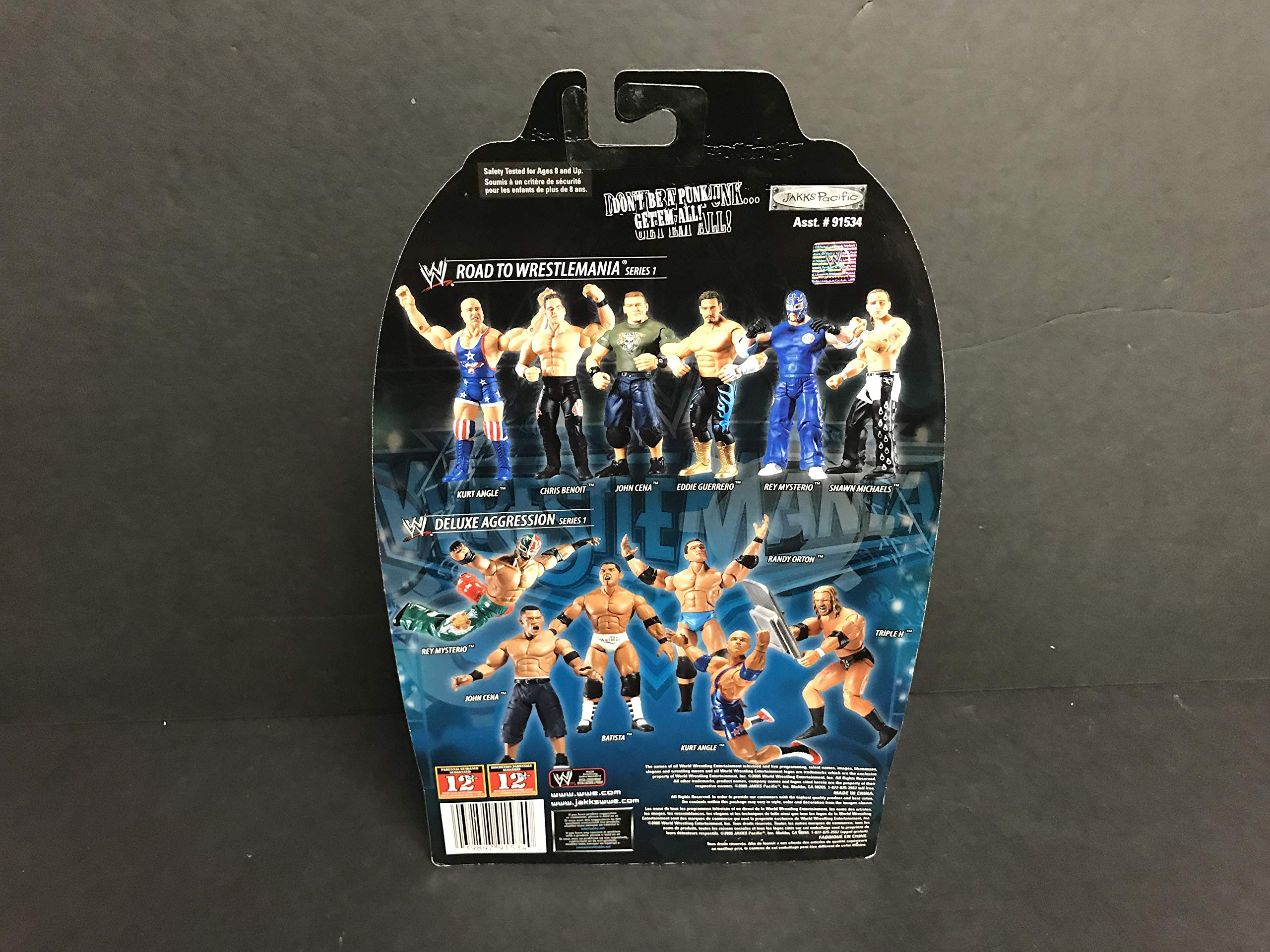 WWF Road to WrestleMania 22 Action Figure SHAWN MICHAELS dressed as Hulk Hogan